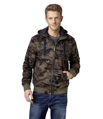 Bunda CCG-1900-2061 khaki camouflage