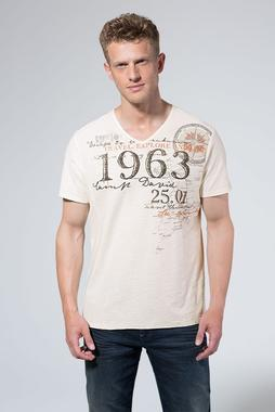 Tričko CCG-1907-3795 sand white