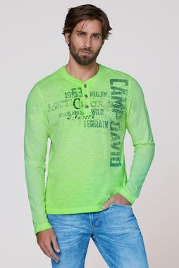 Tričko CCG-2007-3099 signal green