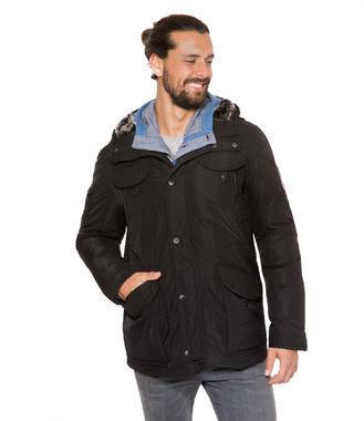 Černá zimní bunda Camp David