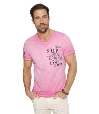 Tričko CCU-1855-3595 deep pink