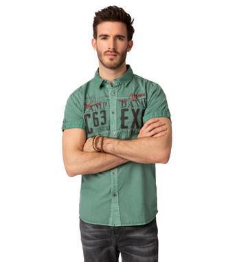 Košile CCU-1900-5717 Washed Khaki