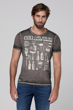 Tričko CCU-2000-3229 Coal Black