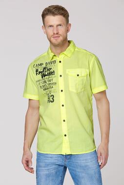 Košile CCU-2000-5191 neon lime