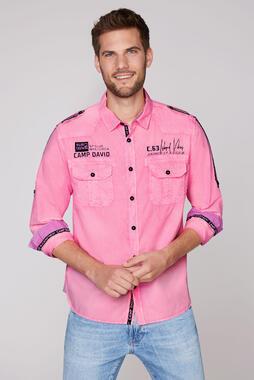 Košile CCU-2000-5219 neon pink