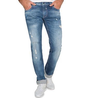 L32 Džínové kalhoty CDU-1855-1287 vintage grey