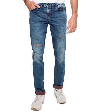 Džínové kalhoty CDU-1855-1292 L32 blue aged