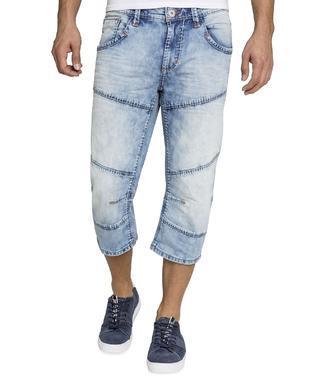 Džínové 3/4 kalhoty CDU-1900-1430 light random
