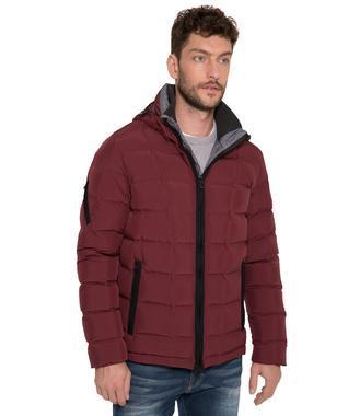 Péřová bunda CHS-1708-2013 dark burgundy