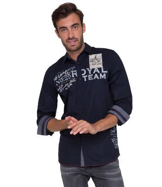 tmavě modrá košile CHS-1755-5172 Regular Fit