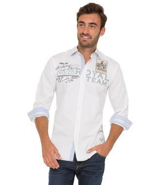 bílá košile CHS-1755-5172 Regular Fit