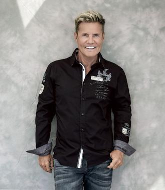 černá košile CHS-1755-5173 Regular Fit