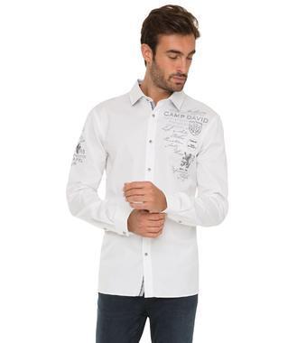 Bílá košile CHS-1755-5175 Regular Fit