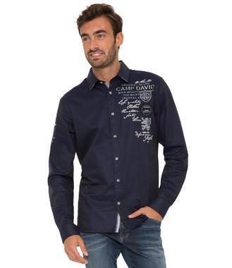 Košile Regular Fit CHS-1755-5178 tmavě modrá