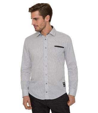 Košile Modern Fit CHS-1801-5006 black