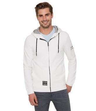 Mikina s kapucí CHS-1804-3009 white