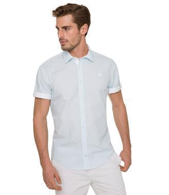 Košile Modern Fit CHS-1804-5001 bright aqua