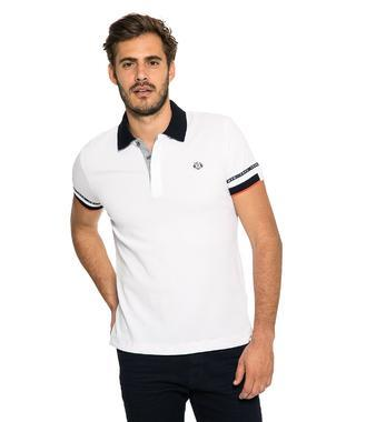 polo 1/2 CHS-1807-3009 white