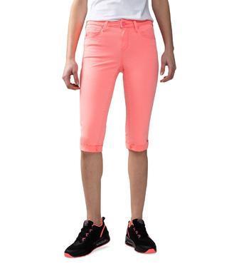 Džínové kraťasy SCU-1900-1937 neon pink