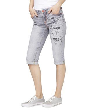 Džínové 3/4 kalhoty SDU-1900-1374 grey aged