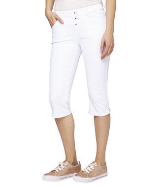 Džínové 3/4 kalhoty SDU-1900-1391 optic white