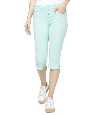 Džínové 3/4 kalhoty SDU-1900-1391 soft green