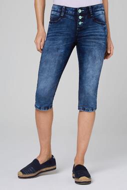 Džínové 3/4 kalhoty SDU-2000-1836 blue black used