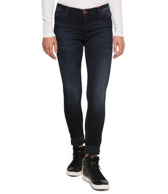 Džíny Slim Fit SDU-9999-1707 blue black vintage