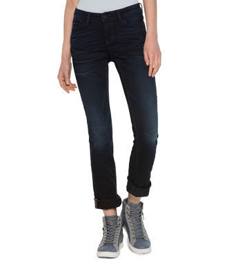 L34 Stretch-Jeans, Blue Black Used