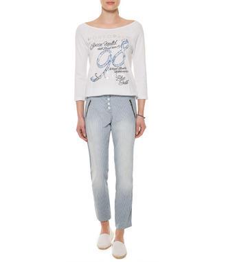 Kalhoty SPI-1602-1011 blue stripe