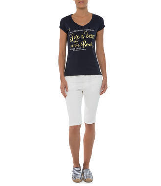 modré tričko Soccx Riviera Maya