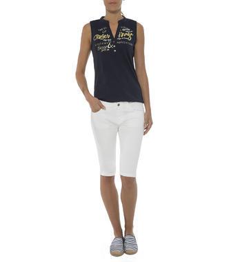 modré tričko bez rukávů Soccx Spirit Riviera Maya