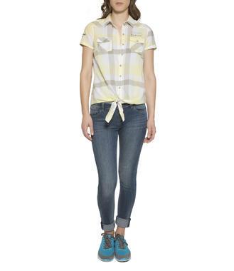 žlutá kostkovaná košile Soccx Spirit Riviera Maya