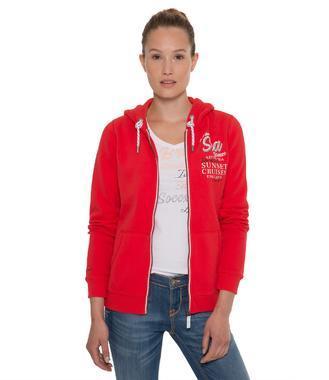 červená mikina SPI-1711-3091