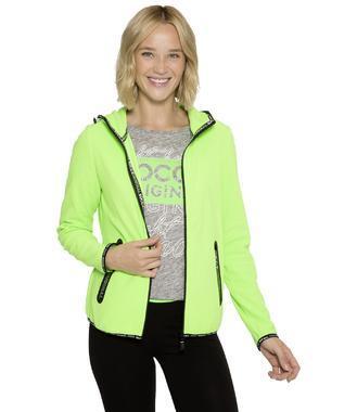 Fleecová bunda SPI-1800-3323 neon lime