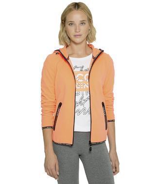 Fleecová bunda SPI-1800-3323 neon orange