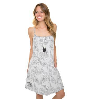 šaty SPI-1805-7248 optic white