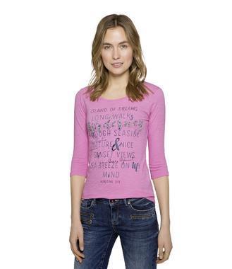 tričko 3/4 SPI-1807-3672 fuschia rose