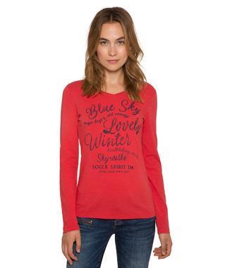 Tričko SPI-1809-3900  creamy red