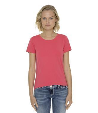Tričko SPI-1855-3153-1 pink coral