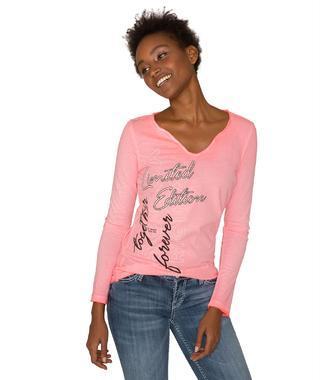 Tričko SPI-1855-3781 neon pink