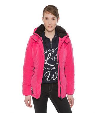 růžová bunda Soccx