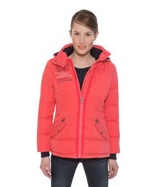Červená bunda Soccx
