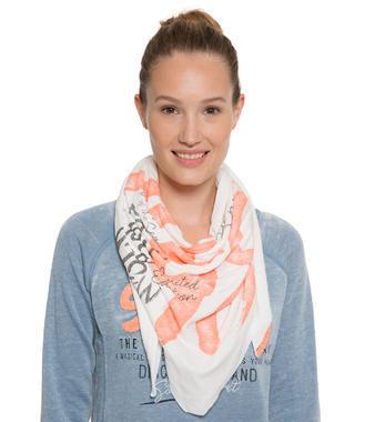 Bílý šátek Soccx
