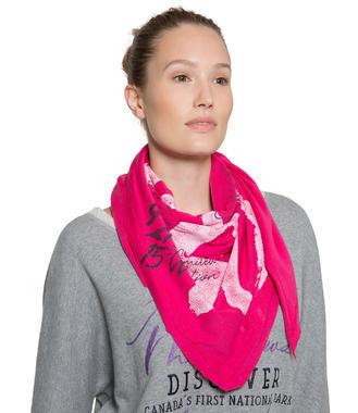 Růžový šátek Soccx