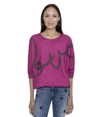 Růžová mikina STO-1712-3126
