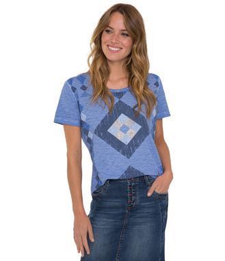 tričko STO-1804-3267 blue lavender