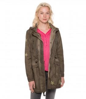 parka STO-1807-2700 FADED KHAKI