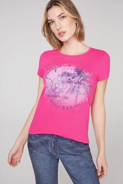 Tričko STO-2102-3835 oriental pink