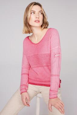 Svetr STO-2102-4842 oriental pink